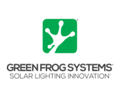green frog solar lighting
