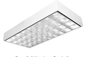 Deep Cell Aluminum Parabolic LED